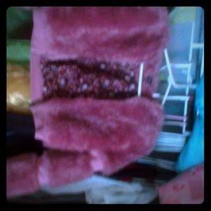 Fake Fur pink jacket